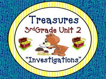 Treasures 3rd Grade Unit 2 Bundle