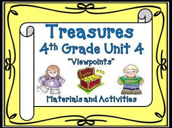 Treasures 4th Grade Unit 4 Bundle