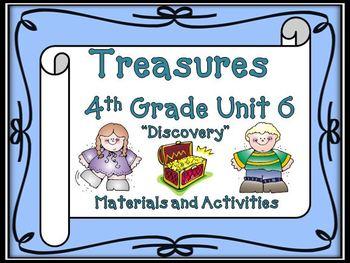 Treasures 4th Grade Unit 6 Bundle