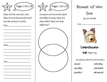 Treasures 4th Grade Unit 1 Week 5 - Because of Winn Dixie