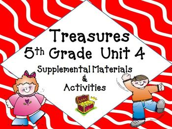 Treasures 5th Grade Unit 4 Bundle