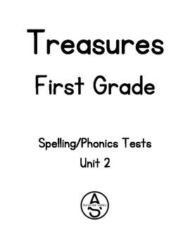 Treasures First Grade - Unit 2 Spelling/Phonics Tests