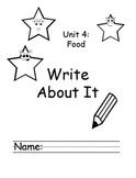 Treasures Kindergarten Write About it Journals Smart Start