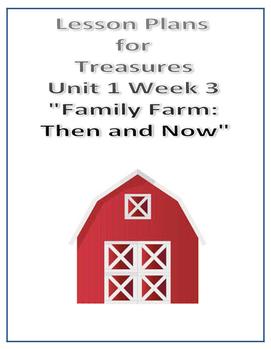 Treasures Lesson Plans for Unit 1 Week 3 - Family Farm: Th