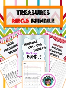 Treasures First Grade MEGA BUNDLE!!