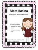 Treasures - Meet Rosina (Interactive Journal and Posters)