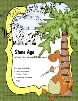 Treasures - Music of the Stone Age (Interactive Journal an