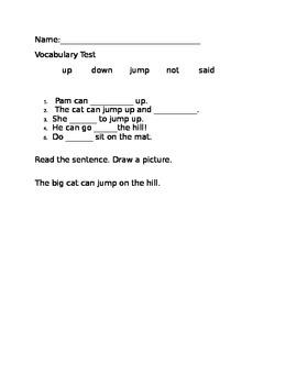 Treasures Reading Series 1st grade unit 1.1 Pam and Sam Vo