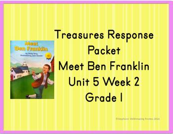 Treasures Response Packet  Grade 1 -- Unit 5 Week 2 -- Mee