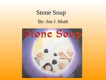 Treasures Stone Soup Vocabulary PowerPoint