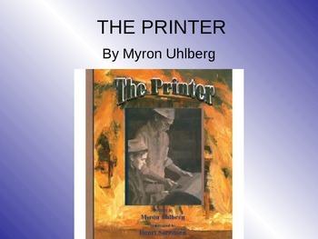 Treasures The Printer Vocabulary PowerPoint