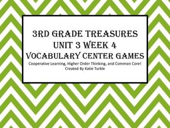 Treasures Third Grade Vocab Unit 3 Week 4 Jones Family Exp