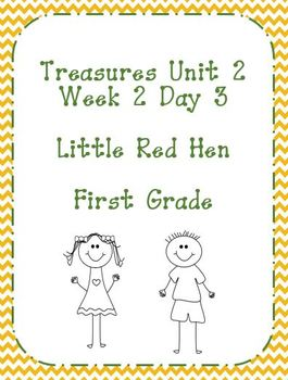 Treasures Unit 2 Week 2 Day 3 Lesson