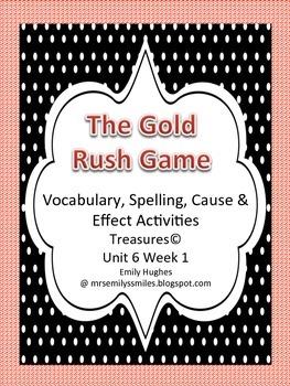 Treasures© Ut6 Wk1 Gold Rush Game Supplemental Vocabulary