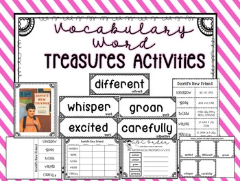 2nd Grade Treasures Vocabulary