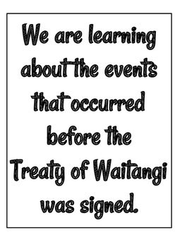 Treaty of Waitangi Timeline