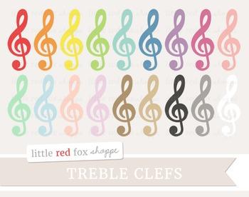 Treble Clef Clipart; Music, Musical, Piano