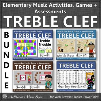 Treble Clef Fun! (Bundle)