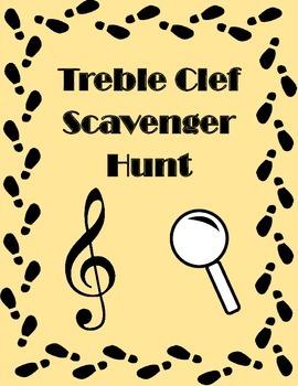 Treble Clef Scavenger Hunt