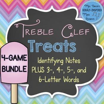 Treble Clef Treats: Bundle