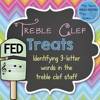 Treble Clef Treats: Identifying Three-Letter Words in the