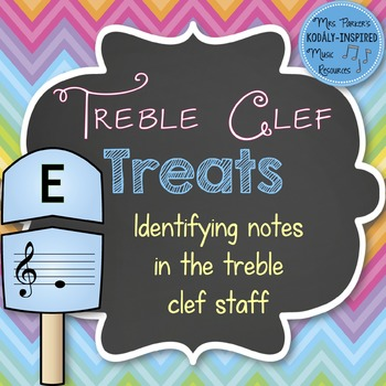 Treble Clef Treats: Identifying the Notes of the Treble Cl