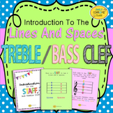 Treble Clef and Bass Clef (Lines and Spaces on the Staff)