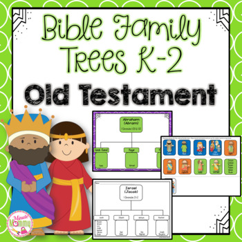 Tree Maps: Bible Family Trees K-2