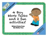 'Tree' mendous Boy Work Tasks and Fun Activities