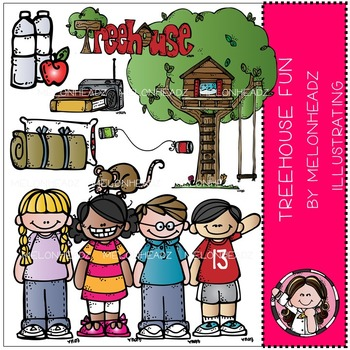 Treehouse fun by Melonheadz COMBO PACK