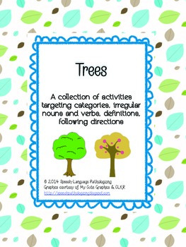 Trees: Categories, Syntax, Semantics & Directions