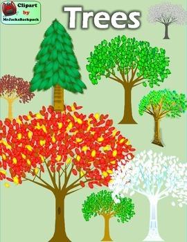 Clip Art - Trees Clipart