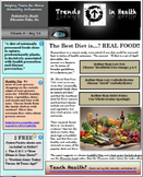 Trends in Health Newsletter Vol. 3 FREE: What Diets are Best?