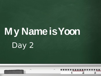 Treasures - 2nd Grade - My Name is Yoon - Day 2