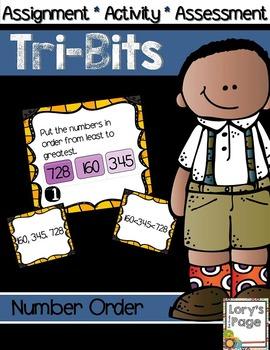 Tri-Bits - NUMBER ORDER hundreds