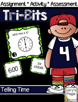 #wildwednesday Tri-Bits - TIME hour, half hour