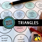 Triangle Classification & Impossible Triangles: Always, So