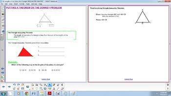 Triangle Inequality Theorem - Geometric Inequalities