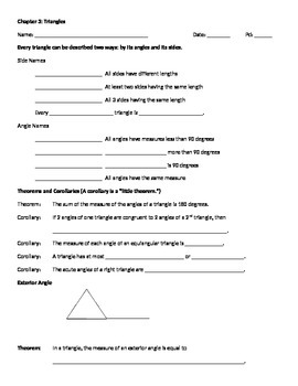Triangle Notes
