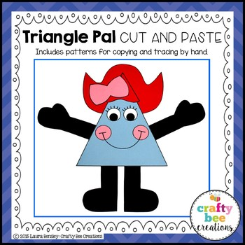 Triangle Pal Cut and Paste
