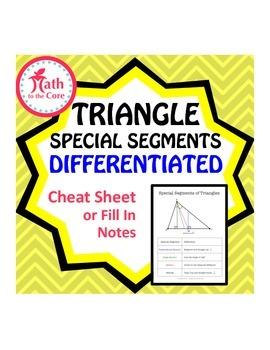 Triangle Special Segments