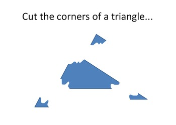 Triangle Sum Theorem Animated Power Point
