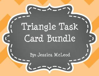 Triangle Task Card Bundle