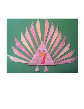 Thanksgiving Triangle Turkey