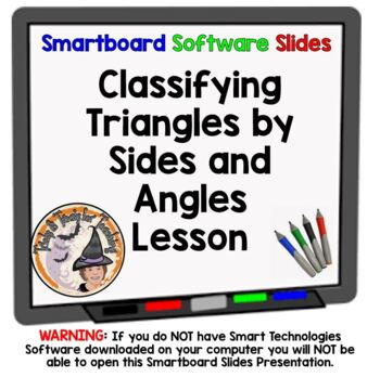 Triangles Properties Classifying by Sides and Angles Smart