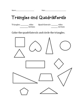 Triangles vs. Quadrilaterals
