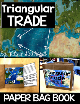 Triangular Trade Paper Bag Book