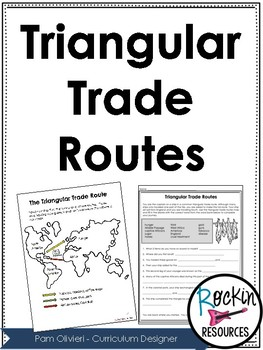 Triangle Trade Worksheet - Delibertad