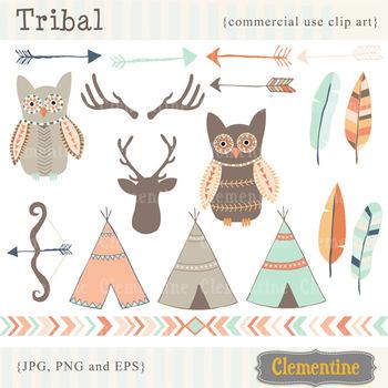 Tribal clip art