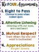 Tribes Posters - The Four Agreements -Respect,Appreciation